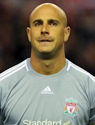 Reina didn't train on Wednesday