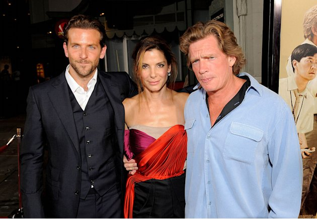 'All About Steve' LA Premiere 2009 Bradley Cooper Sandra Bullock Thomas Haden Church