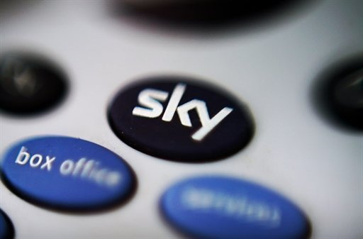 <p>File picture of a Sky television remote control pictured in 2008. British pay-TV giant BSkyB said on Thursday that net profits fell in its first quarter after an exceptional loss offset a rise in revenues and customers thanks to the Olympics and other British sporting success.</p>