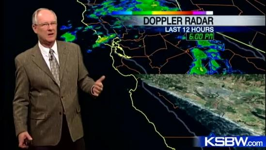 Watch your Tuesday night KSBW weather forecast 12.04.12
