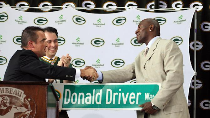 NFL: Green Bay Packers-Donald Driver Retirement Press Conference