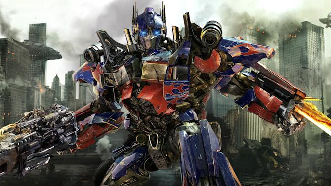 "In this publicity image released by Paramount Pictures, Optimus Prime is shown in a scene from ""Transformers: Dark of the Moon."" (AP Photo/Paramount Pictures)"