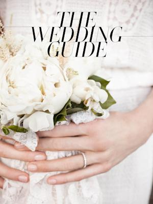 "This promotional image released by Vogue shows the cover of Vogue's ""The Wedding Guide,"" a wedding guide just in time for summer nuptials. (AP Photo/Vogue)"