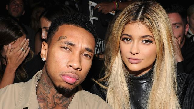 Kylie Jenner Belatedly Celebrates On-Again, Off-Again Boyfriend Tyga's Birthday