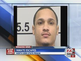 Inmate escapes from North Kern State Prison