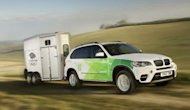 A BMW vehicle to be used in the London 2012 Olympic Games