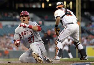 Angels hit 4 homers in 7-3 victory over Orioles