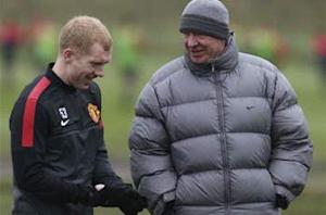 Ferguson rejects claims Scholes will retire at end of season