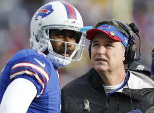 QB EJ Manuel's advice for rookie Sammy Watkins: take it easy. (AP)