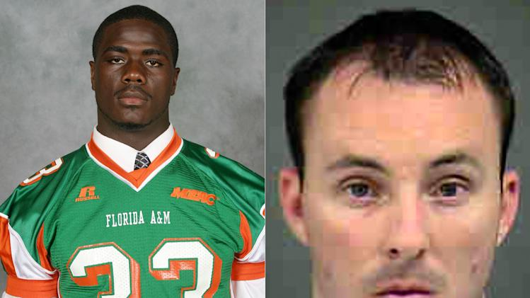 This combination of undated photos provided by Florida A&M University and the Charlotte-Mecklenburg Police shows Jonathan Ferrell, left, and police officer Randall Kerrick. Ferrell, 24, was shot and killed by Kerrick in Charlotte, N.C. early Saturday, Sept. 14, 2013. Hours after the shooting, the department made a rare move: It charged the officer with voluntary manslaughter. Most police departments, including Charlotte, usually take weeks - sometimes months - to complete an investigation of a police shooting. But the decision to quickly charge Kerrick is now drawing sharp criticism from police groups and being followed closely by law enforcement departments across the country. (AP Photo/Florida A&M University, Charlotte-Mecklenburg Police)
