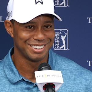 Tiger Woods news conference before THE PLAYERS