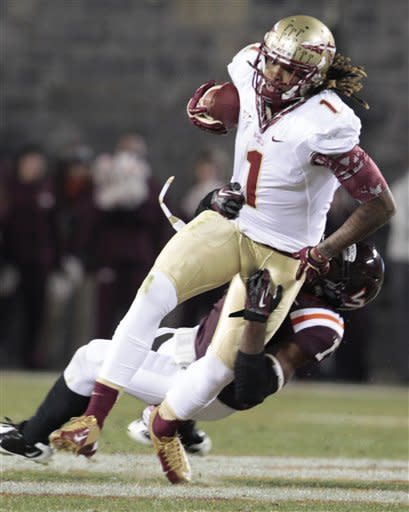No. 8 Seminoles rally to beat Hokies 28-22
