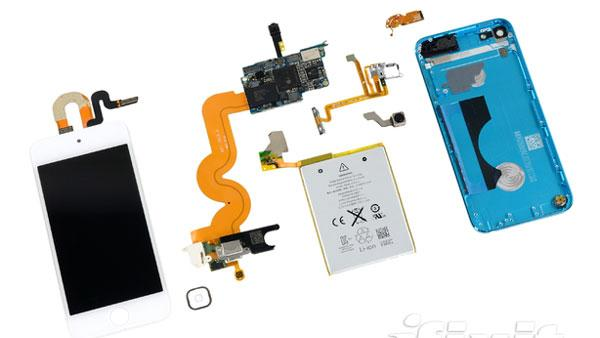 iPod Touch Teardown: A Beautiful Device, Hard to Repair