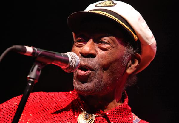 Chuck Berry Praises Obama, Laments Fading Health