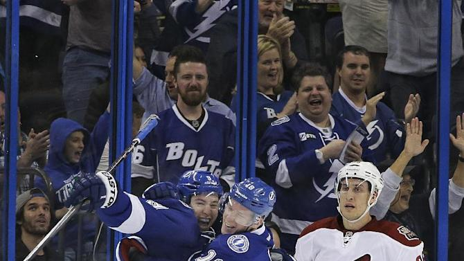 Vrbata scores in SO; Coyotes top Bolts 4-3