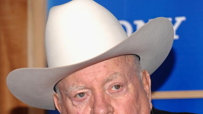 "In this Monday, Dec. 14, 2009 photo, actor Wilford Brimley attends the premiere of ""Did You Hear About The Morgans"" at the Ziegfeld Theater in New York. Brimley is selling his Wyoming ranch, with an asking price of $1.25 million. Brimley has owned the 276-acre ranch near Greybull, Wyo., for about seven years. (AP Photo/Evan Agostini)"