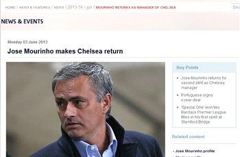 Nearly official: Mourinho's new job 'confirmed' by Premier League
