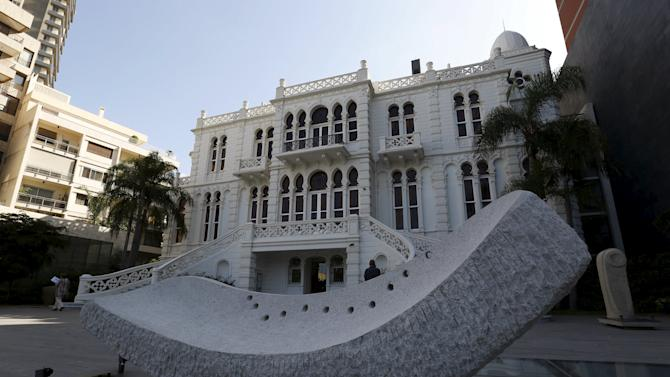 A general view shows the Sursock Museum in Beirut, Lebanon