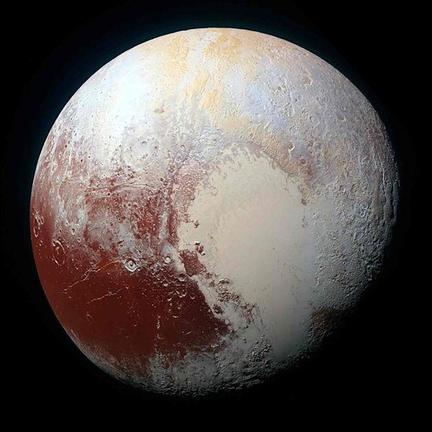 Frigid Pluto is home to more diverse terrain than expected ...