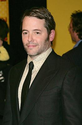 Matthew Broderick at the New York City premiere of DreamWorks Pictures' Bee Movie