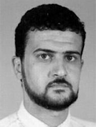 Image provided by the FBI shows Abu Anas al-Libi on their wanted list October 5, 2013, the long-sought Al-Qaeda operative indicted in the 1998 bombings of US embassies in Kenya and Tanzania who was captured by US forces in broad daylight in Libya