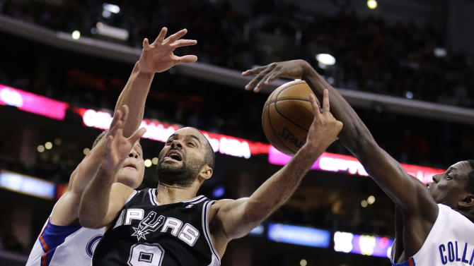 Duncan, Ginobili, Parker sit for Spurs at Warriors