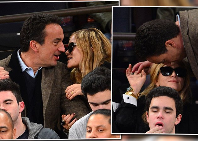 In New York: Mary-Kate Olsen & Olivier Sarkozy ganz verliebt (Bilder: Getty Images)