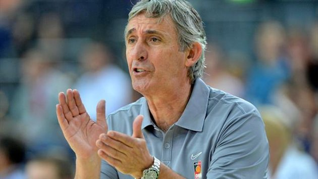 Svetislav Pesic Germany Basketball Coach 2012