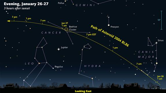 shooting asteroids from earth view -#main