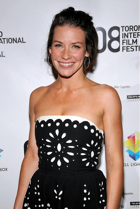 "Evangeline Lilly arrives at the ""Blindness"" premiere during the 2008 Toronto Internation Film Festival held at The Visa Screening Room at the Elgin Theatre on September 6, 2008 in Toronto, Canada."