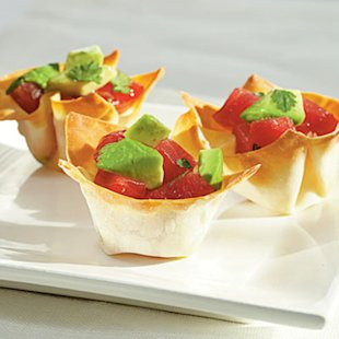 Tuna-Avocado Cups