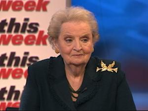 Madeleine Albright: Foreign Policy Has Become 'Much Harder'