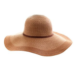 Two-tone Straw Hat J.Crew: Beach