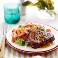 Grilled Ham Steaks