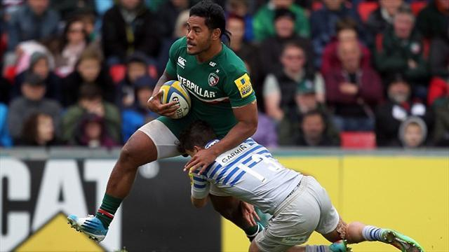 Premiership - Leicester set to face Northampton in semis