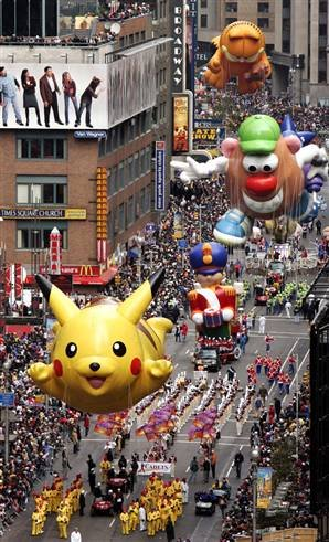 Macy's Thanksgiving Day Parade - NYC, Nov. 22