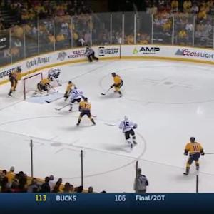 Pekka Rinne Save on Andrew Shaw (02:16/3rd)