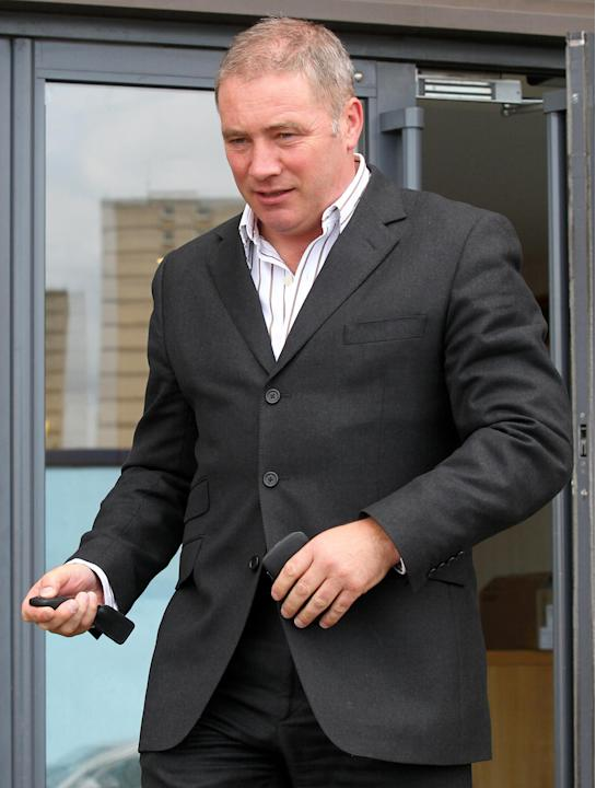 Rangers boss Ally McCoist declared he would never accept Rangers being stripped of titles