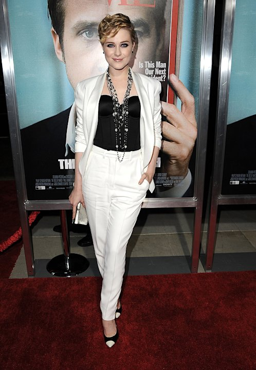 Ides of March LA Premiere 2011 Evan Rachel Wood