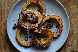 Crispy Delicata Rings