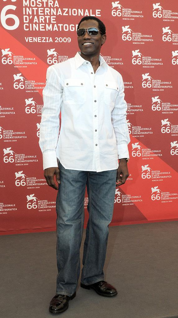 66th Annual Venice Film Festival 2009 Wesley Snipes
