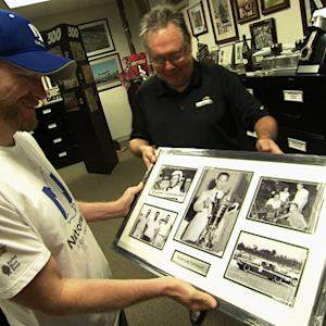 Junior gets a special gift from ISC Archives