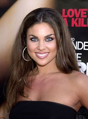 &quot;Days of Our Lives&quot; star Nadia Bjorlin at the L.A. premiere of MGM's Original Sin