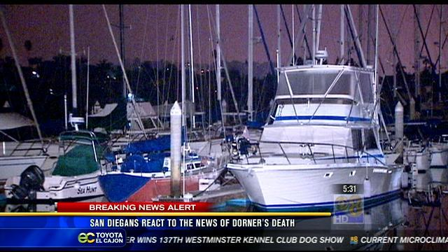 San Diegans react to the news of Dorner's death