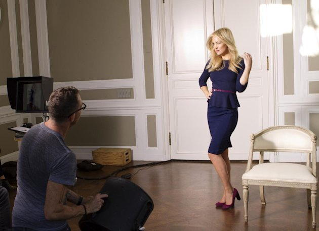 An undated image released by Ann Taylor shows actress Kate Hudson. The clothing company announced that Hudson will be the face of their fall 2012 campaign. (AP Photo/Ann Taylor)