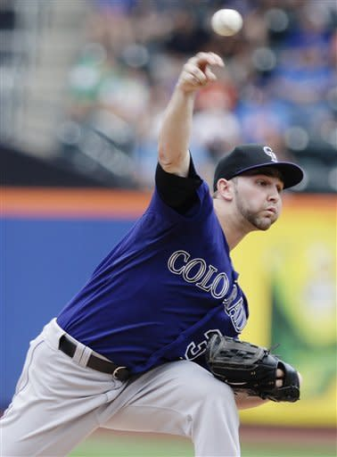 Rockies beat Mets 1-0 for 4-game sweep
