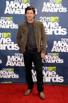 Patrick Dempsey arrives at the 2011 MTV Movie Awards at Universal Studios' Gibson Amphitheatre in Universal City, Calif., on June 5, 2011 -- Getty Premium