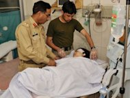 Pakistani army doctors treat injured Malala Yousafzai, 14, at an army hospital following an attack by gunmen in Peshawar. Malala was 11 when she wrote the blog on the BBC Urdu website, which at the time was anonymous. She also featured in two New York Times documentaries