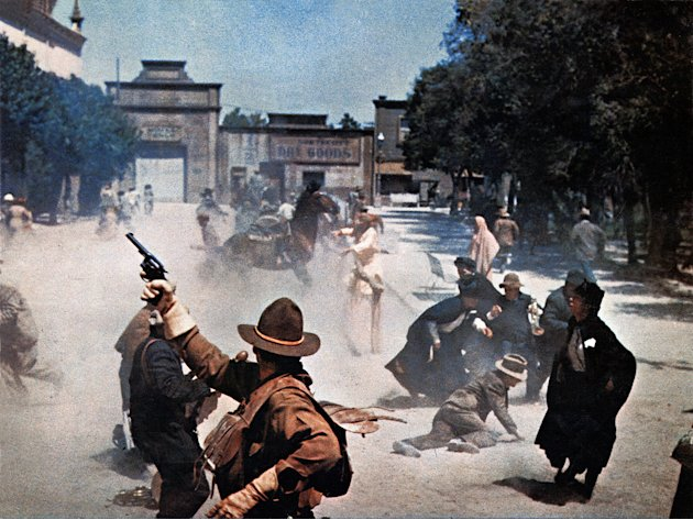 Kathryn Bigelow 10 Favorite Action Scenes 2009 The Wild Bunch