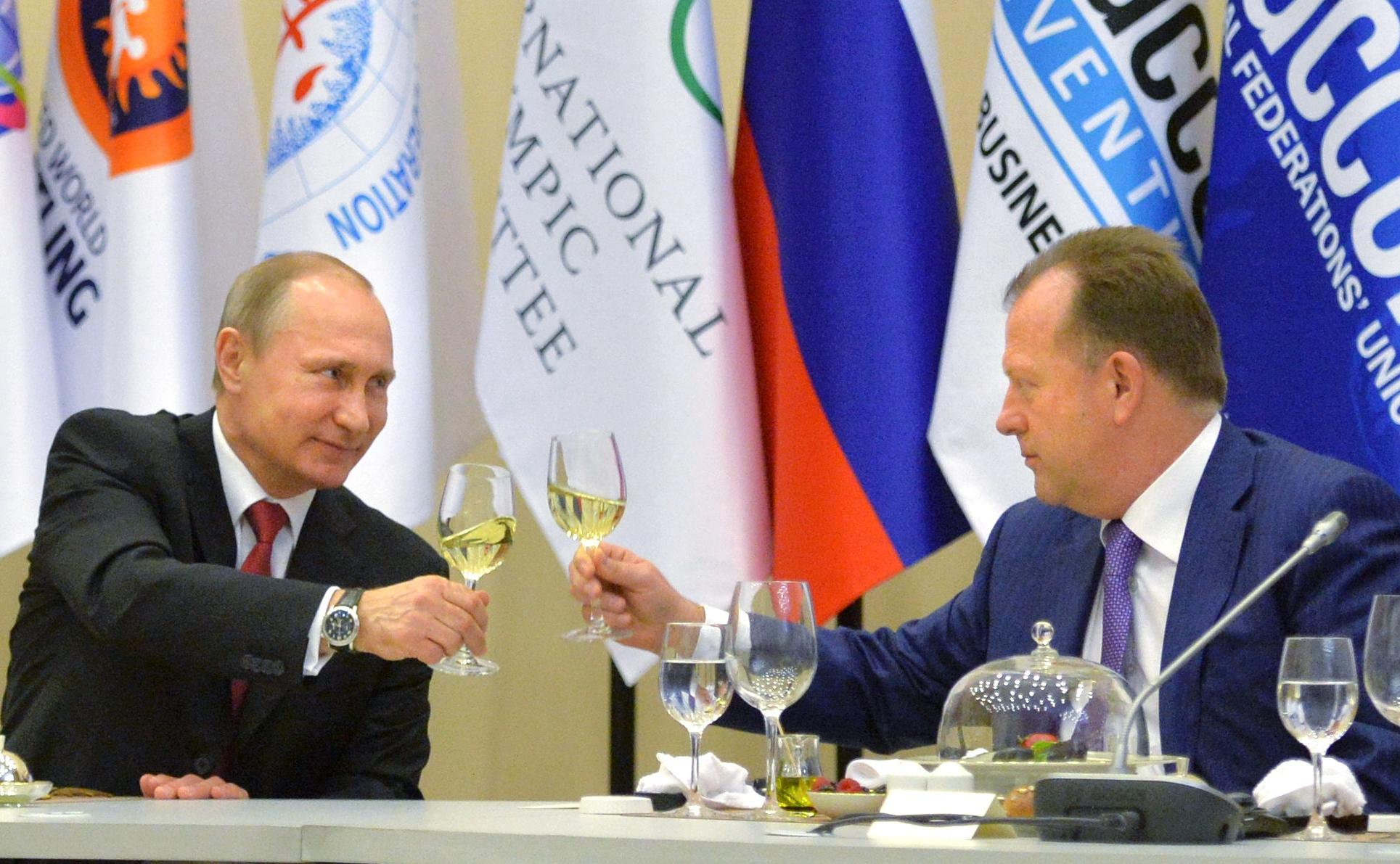 Ugly Olympic conflict breaks into open at Sochi conference